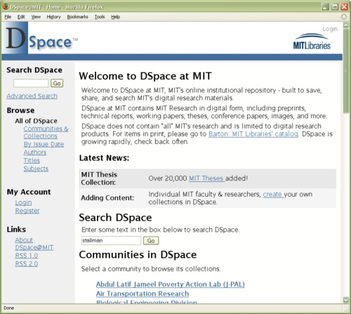 mit libraries thesis The thesis should begin with a title page followed by a one-page abstract, both conforming to the format described in the publication specifications for thesis preparation prepared by the mit libraries archives department.