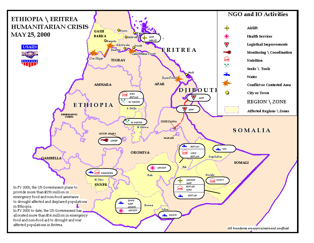 Current Situation - Drought in Ethiopia