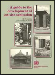 A guide to the development of on-site sanitation by reed, richard.