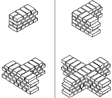pressed earth blocks manual of design and construction masonry Perimeter of All Shapes here it is shown being used at the end of a continuous wall and at the junction of two walls in an l or t shape