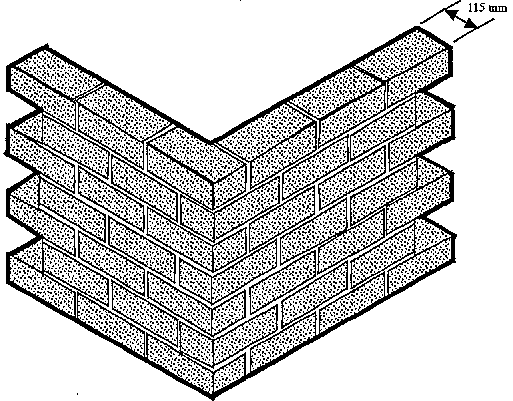 Wall Thickness House : Single brick wall thickness pictures to pin on pinterest