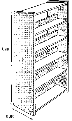55 Double Faced Wooden Shelf Suggested Dimensions