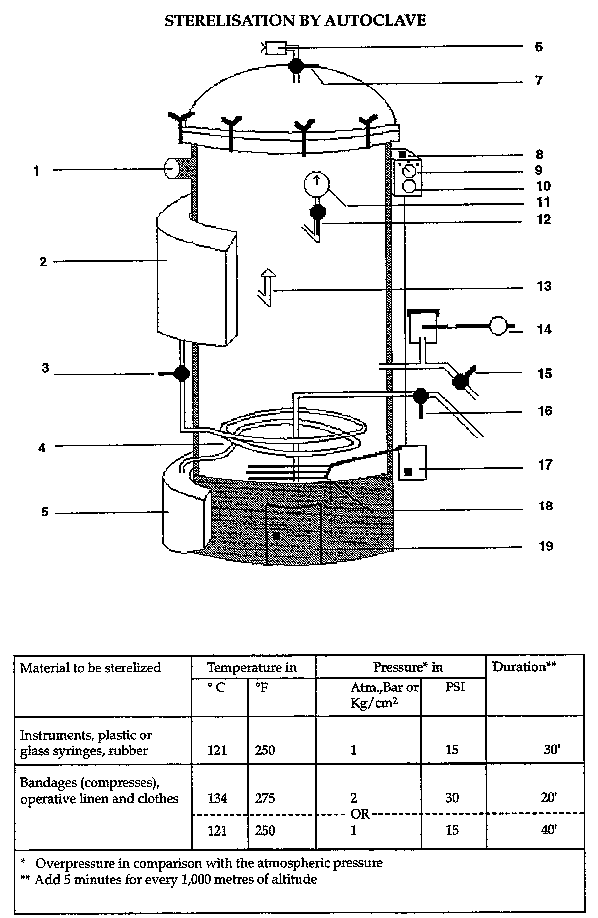 Effective area  Labelled Diagram Of Hot Air Oven